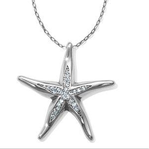 Brighton Blue water starfish necklace